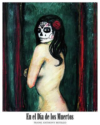 Painting - En El Dia De Los Muertos II by Frank Botello