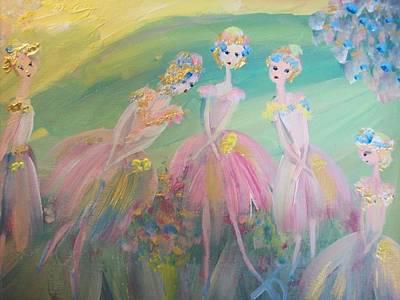En Plein Air Ballet Art Print