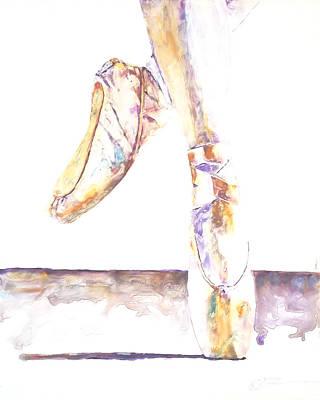 Painting - En Pointe by Elisha Dasenbrock
