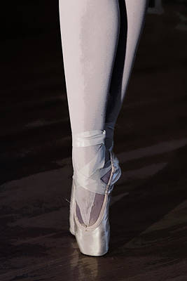 Photograph - En Pointe by Wes and Dotty Weber