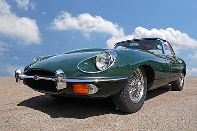 Photograph - En Route To Goodwood - Jaguar E-type by Gill Billington