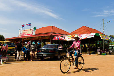 Photograph - En Route To Siem Reap by Alex Leonard
