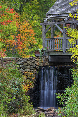 Photograph - Enchanta Bridge In Moore State Park by Juergen Roth
