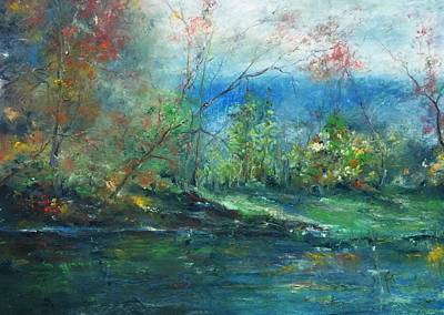 Painting - Enchanted Afternoon by Robin Miller-Bookhout