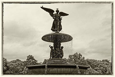 Photograph - Enchanted Bethesda Fountain by M Nuri Shakoor