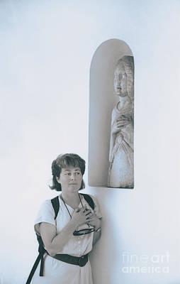 Enchanted Capri Visitor Original by Morris Keyonzo