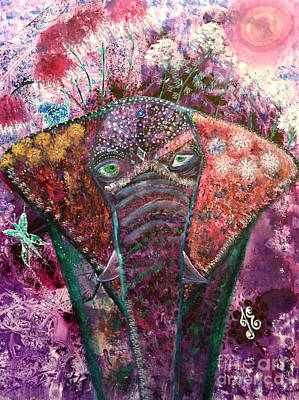 Enchanted Elephant Art Print