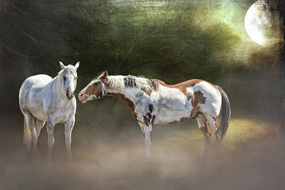 Enchanted Evening Art Print by Debby Herold