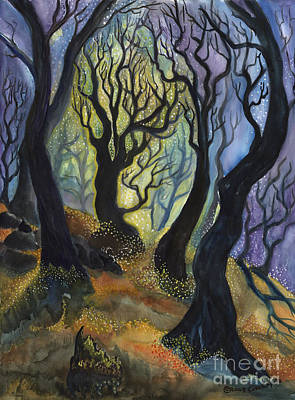 Painting - Enchanted Forest by Cori Caputo