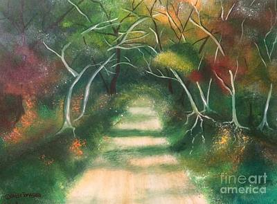 Painting - Enchanted Forest by Denise Tomasura