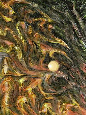 Digital Art - Enchanted Forest Fantasy by Ian  MacDonald