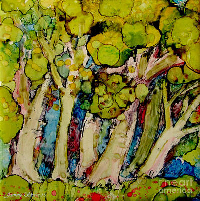 Painting - Enchanted Forest  by Jeanette Skeem