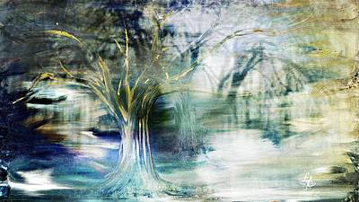 Digital Art - Enchanted Forest by Lynda Payton