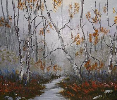 Painting - Enchanted Forest by Pamela Anderson
