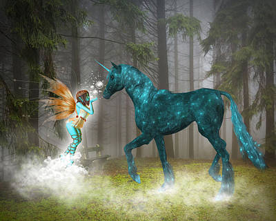 Enchanted Forest Art Print by Solomon Barroa