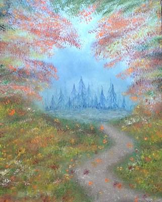 Painting - Enchanted Forest by The GYPSY And DEBBIE