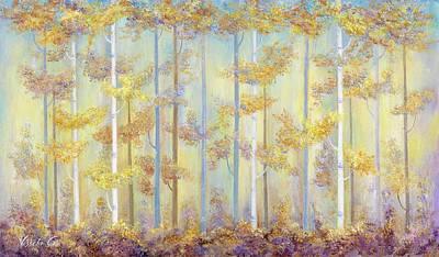 Painting - Enchanted Forest by Vessela Kolibarova