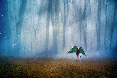 Photograph - Enchanted Forest by Yvonne Emerson AKA RavenSoul