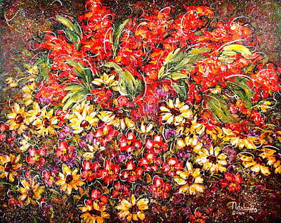 Enchanted Garden Art Print by Natalie Holland