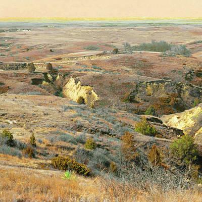 Photograph - Enchanted Grasslands Near Amidon by Cris Fulton