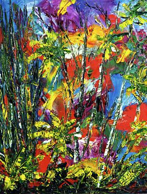 Enchanted Jungle  #167 Art Print by Donald k Hall