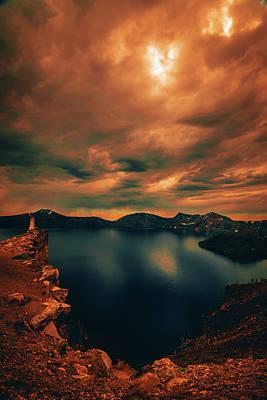 Photograph - Enchanted Lake No.1 by Bonnie Bruno