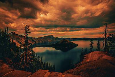 Photograph - Enchanted Lake No.2 by Bonnie Bruno