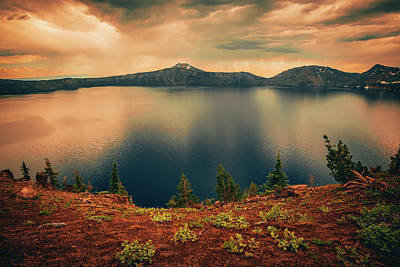 Photograph - Enchanted Lake No3 by Bonnie Bruno