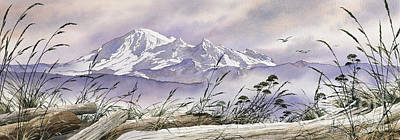 Enchanted Mountain Art Print by James Williamson