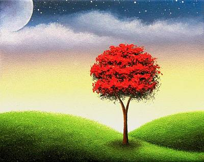 Enchanted Nights Original by Rachel Bingaman