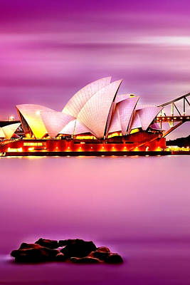 Sydney Photograph - Enchanted Opera by Az Jackson