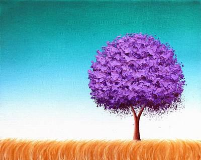 Enchanted Places Art Print by Rachel Bingaman