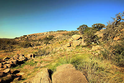 Photograph - Enchanted Rock 1 by Judy Vincent