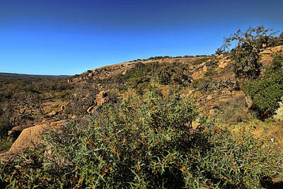 Photograph - Enchanted Rock 2 by Judy Vincent