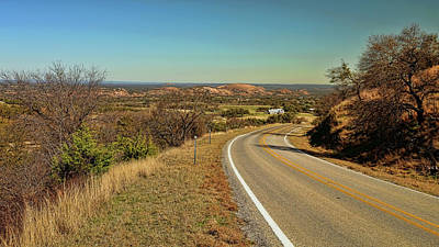 Photograph - Enchanted Rock From A Distance by Judy Vincent