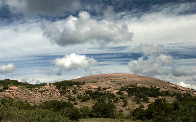 Enchanted Rock Rocks Art Print by Karen Musick