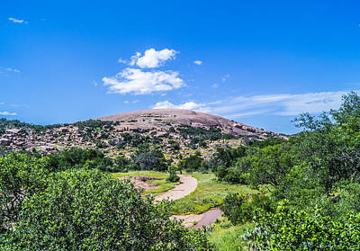 Austin Photograph - Enchanted Rock Texas by Craig David Morrison