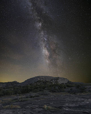 Spot Of Tea Royalty Free Images - Enchanted Rock under the Milky Way 915 5 Royalty-Free Image by Rob Greebon