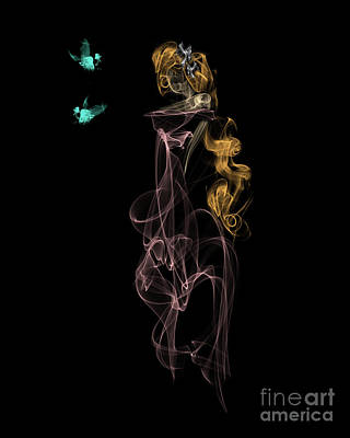 Digital Art - Enchanted by Samantha Guindon