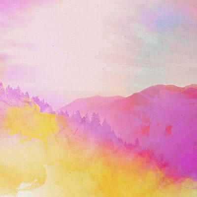 Art Print featuring the digital art Enchanted Scenery #2 by Klara Acel