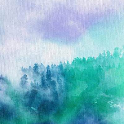 Art Print featuring the photograph Enchanted Scenery by Klara Acel