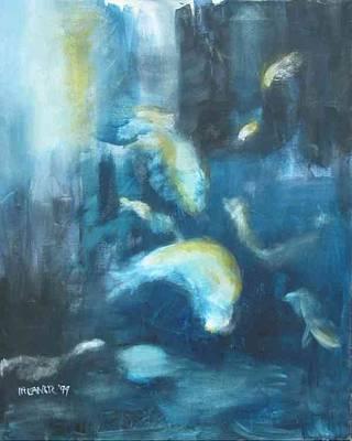 Enchanted Sea Art Print by Halle Treanor
