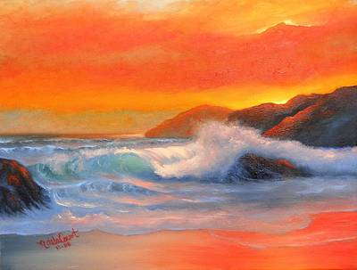 Painting - Enchanted Sea by Natascha de la Court