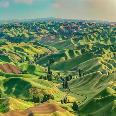 Enchanted Valley Award Winner Art Print