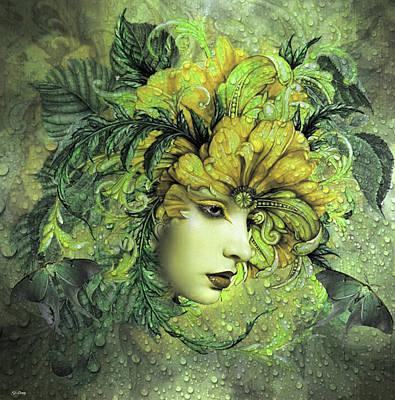 Erotica Mixed Media - Enchanting Beauty by G Berry