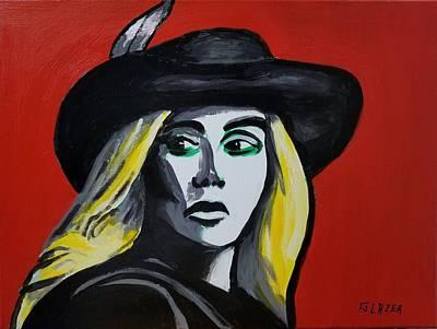Wall Art - Painting - Enchanting Lady Gaga by Stuart Glazer