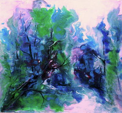 Enchanting Art Print by Sharon K Wilson