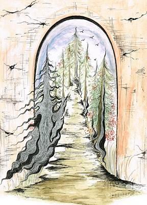 Mixed Media - Enchanting View  by Teresa White