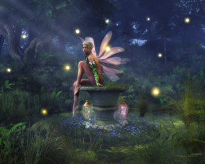 Digital Art - Enchantment - Fairy Dreams by Melissa Krauss
