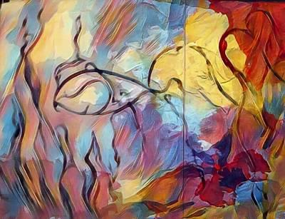 Marble Eyes Mixed Media - Enchantment by Jason Joseph